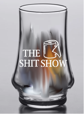 Arc Kenzie glass 5.75 ounce (Shit Show)