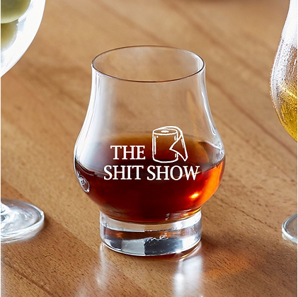 Master Reserve 10.5 ounce glassware (shit show)