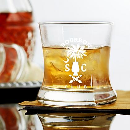 8.5 oz curved bourbon glass SCBC