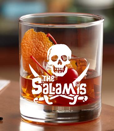 the Salami Rock glass