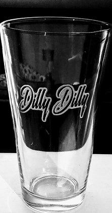 Dilly Dilly pint glasses
