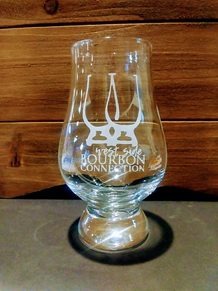 Bourbon Connection 6 oz glencairn