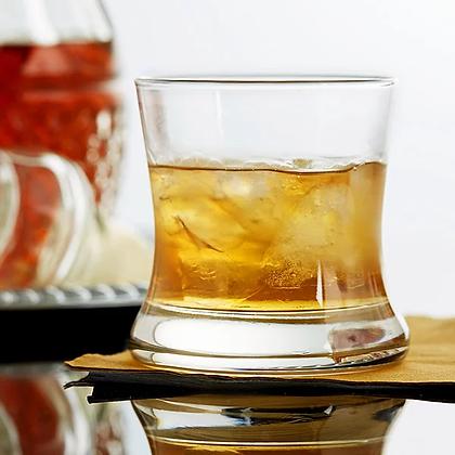 8.5 ounce curved bourbon glsss