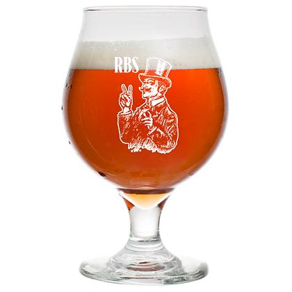 16 oz beer tulip glass (RBs)