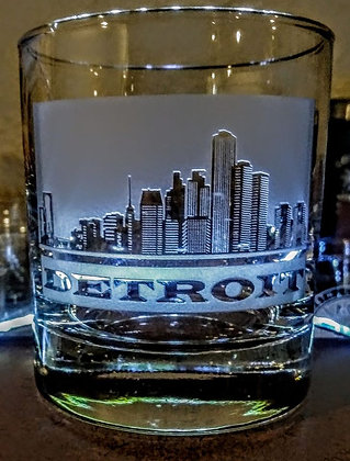 Detroit Rock Glass