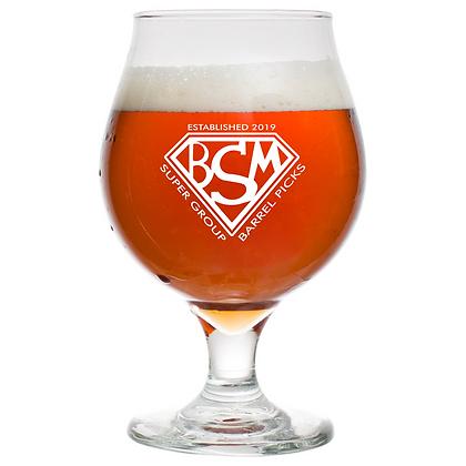 16 oz beer can glass (BSM)