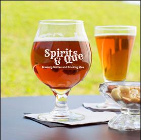 16 ounce tulip beer glas (Spirits & Que)