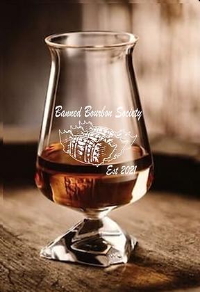 Banned Bourbon Tuath Glass 7.1 ounce