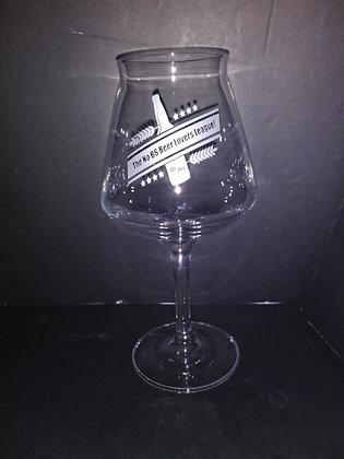 14 oz stemmed beer glass (nobs)