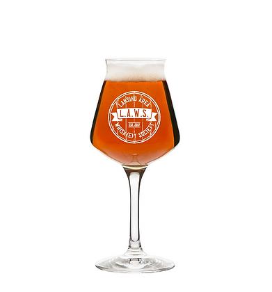 14 oz stemmed beer glass (LAWS)