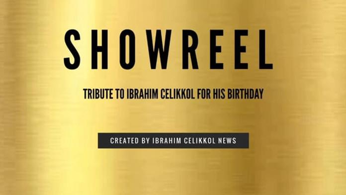 Tribute to Ibrahim Celikkol for his birthday February 14, 2020
