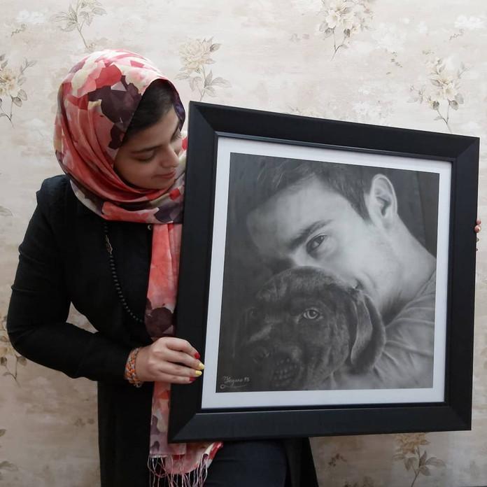 Zahra Yegane - Artist