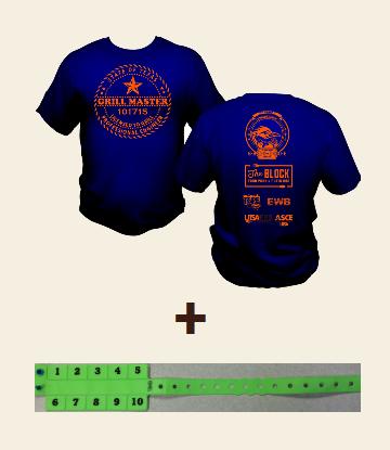 Shirt & Wristband Combo