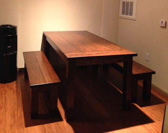SouthernFireRustic.com - Farmhouse Table - Southern Harvest