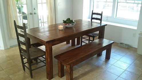 Farmhouse Table - Southern Fire Rustic - Southern Harvest