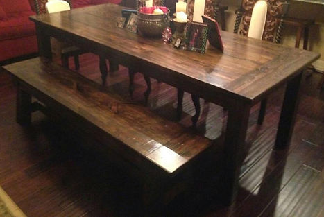 SouthernFireRustic.com - Farmhouse Tables - Southern Harvest