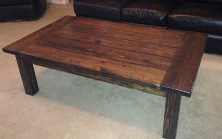 Southern Fire Rustic - Farmhouse Coffee Table