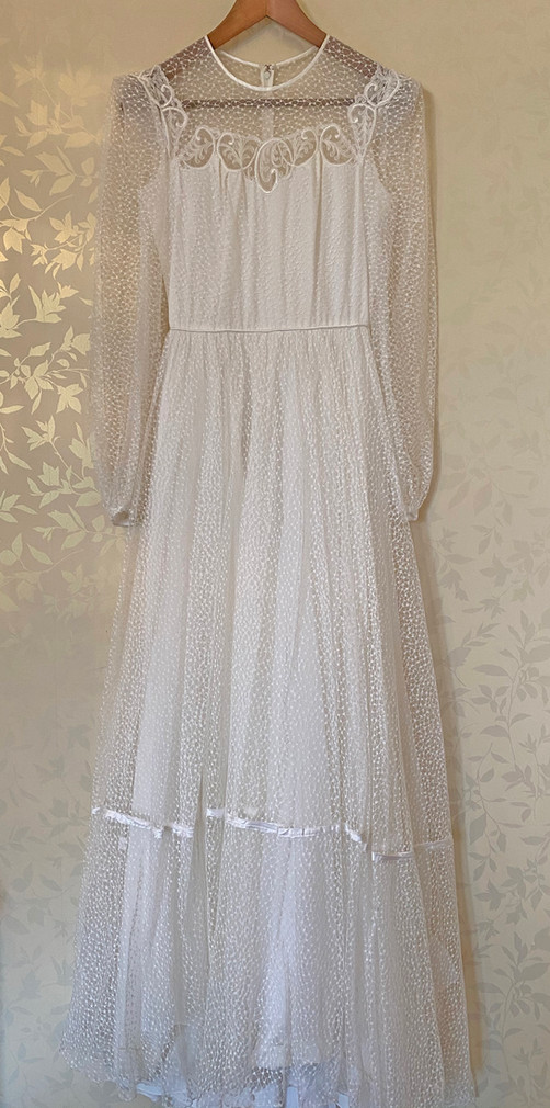 Found. Tulle 1970s