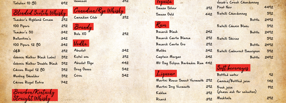 Cocktail Menu Pg 4