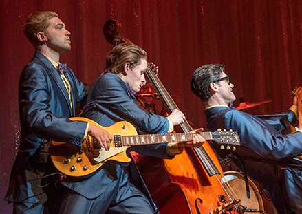 Tuck Sweeney in Buddy: The Buddy Holly Story