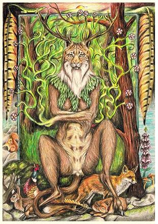 Woodland Goddess - small Fay Brotherhood
