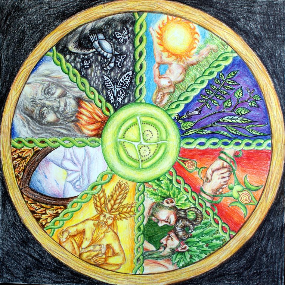 Wheel of the Year Fay Brotherhood