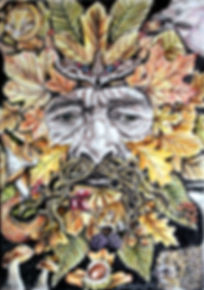 Autumn Green Man (2015)