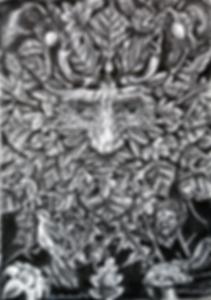 Hawthorn green man (2014)