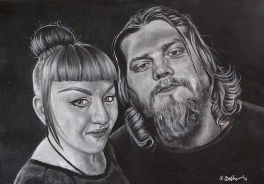 Steve and Lauren by Fay Brotherhood (2015)