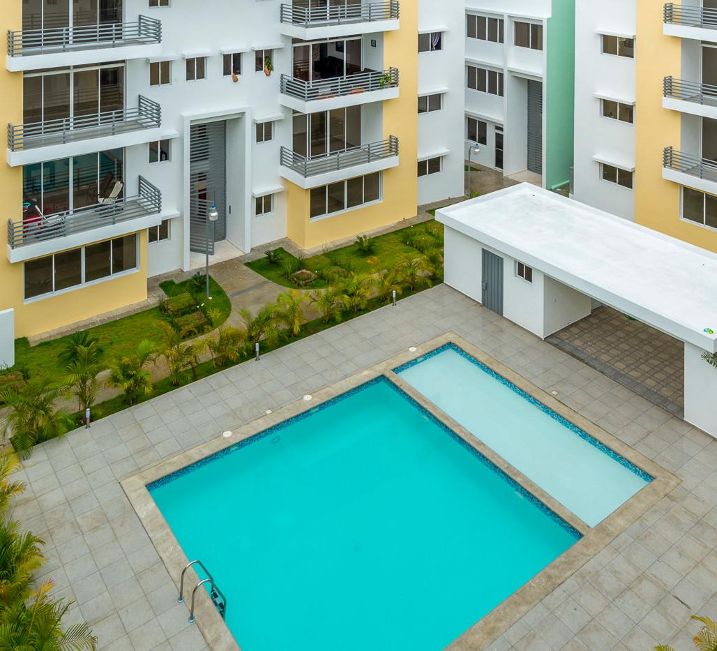 Foto Aérea de la piscina