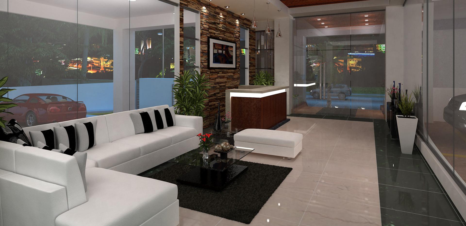 Lobby de Lujo