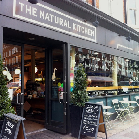 The Natural Kitchen: Marylebone High St, London