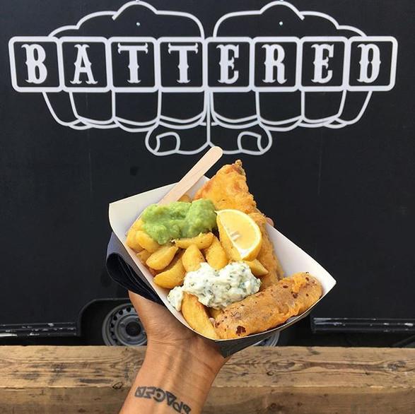 Battered: Vegan fish & chips trailer