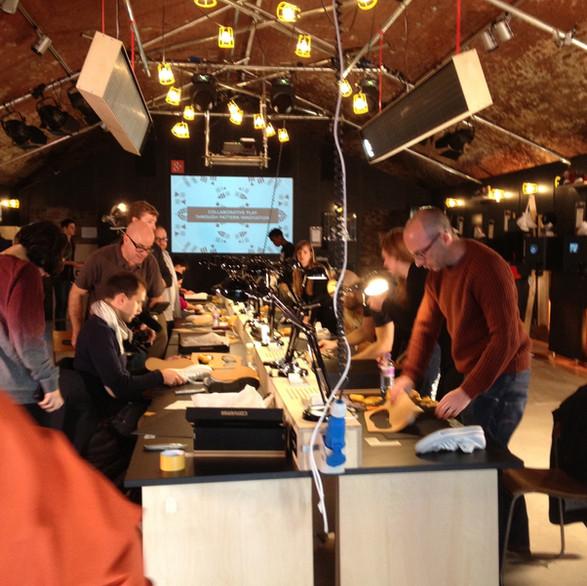 Converse & Google+ Garage: Hoxton Gallery, London