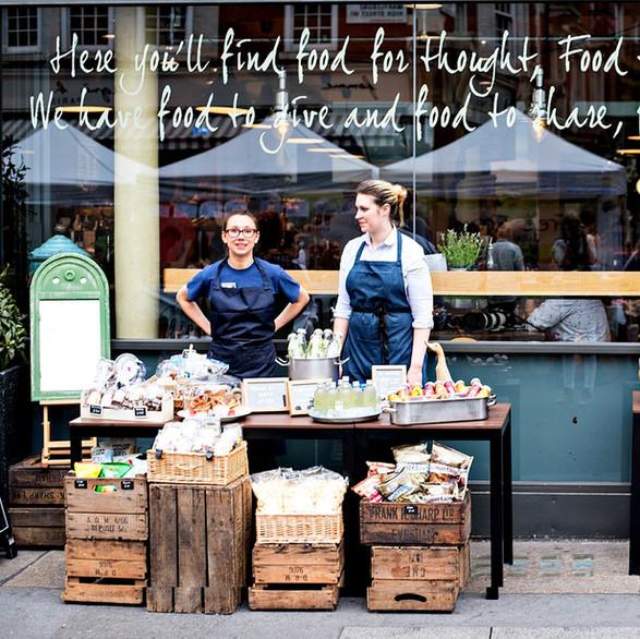 The Natural Kitchen: Marylebone High St, London