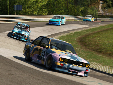 Heated RLR battle for West Competition Racing at the Nordschleife
