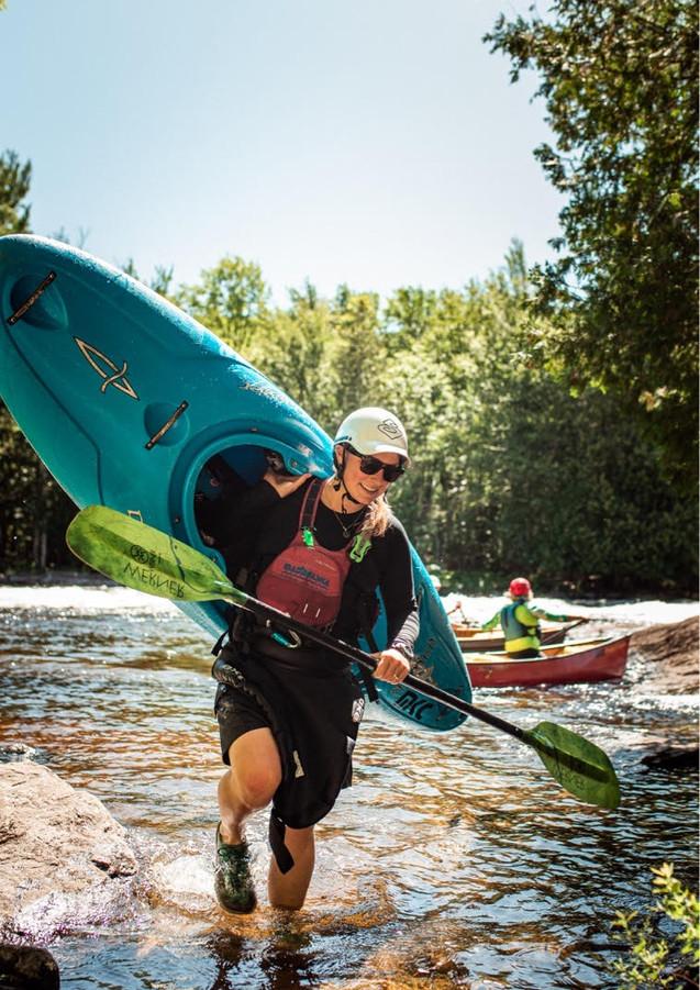 Zofia - kayak (photo by Zacherie Turgeon