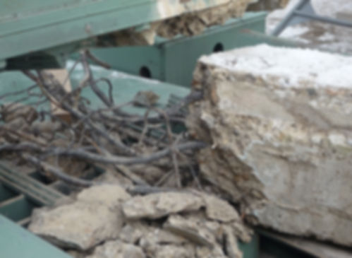 Recycling of wreckage of reinforced concrete piles