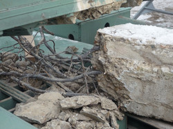 Recycling of concrete