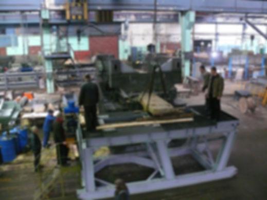 Пусконаладочные работы агрегата МПР-1500 в зводском цехе