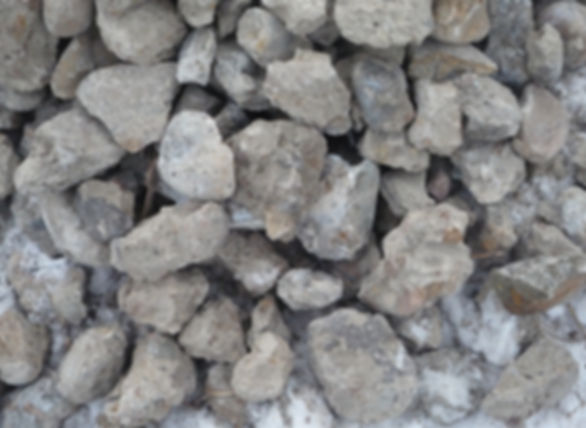 Concrete crushed stone, obtained as a result of recycling of reinforced concrete