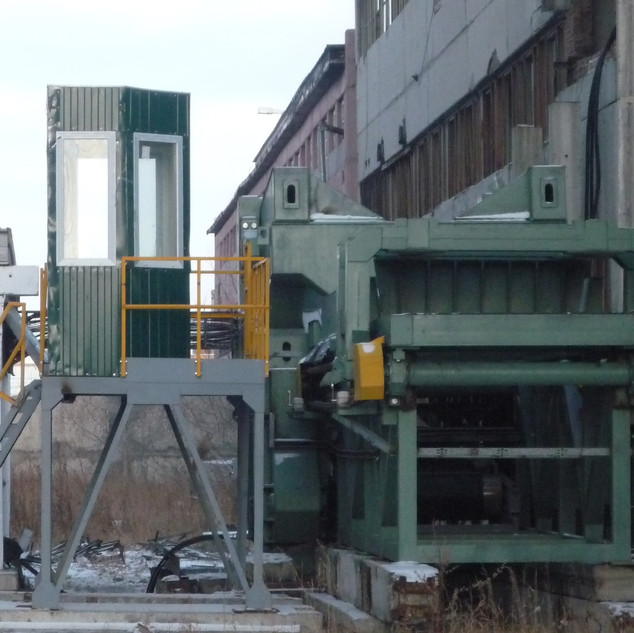 Preparation of the crusher for shipment to the customer