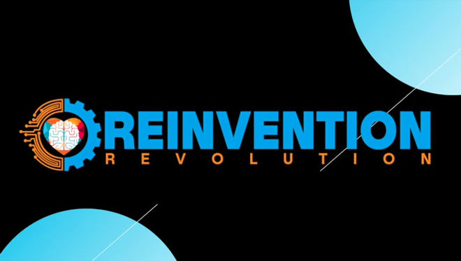 This video is about Lesson #2: Mario Veraldo's Reinvention Revolution®️ Journey