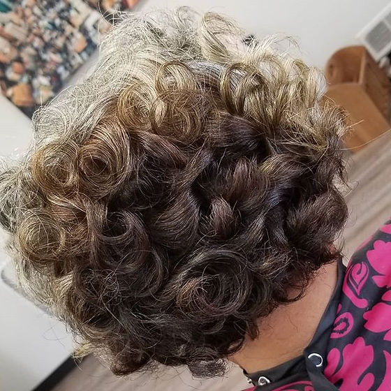 Curl it up! I have many openings this we