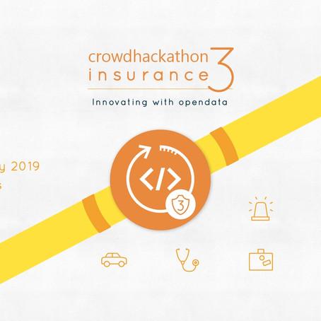 Crowdhackathon #insurance 3: Ο Διήμερος μαραθώνιος καινοτομίας με επίκεντρο την ασφαλιστική αγορά.
