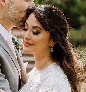 Airbrush Wedding Day Makeup Application