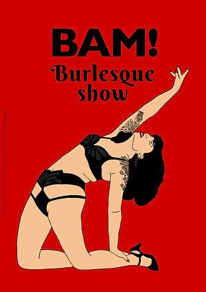 Poster_BAMBurlesqueShow