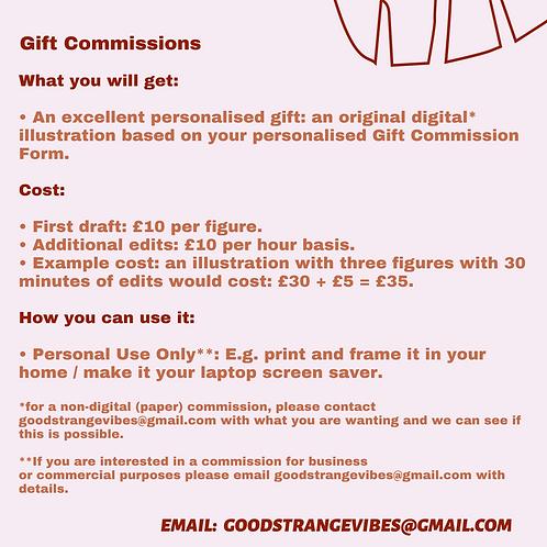 Digital Gift Commission