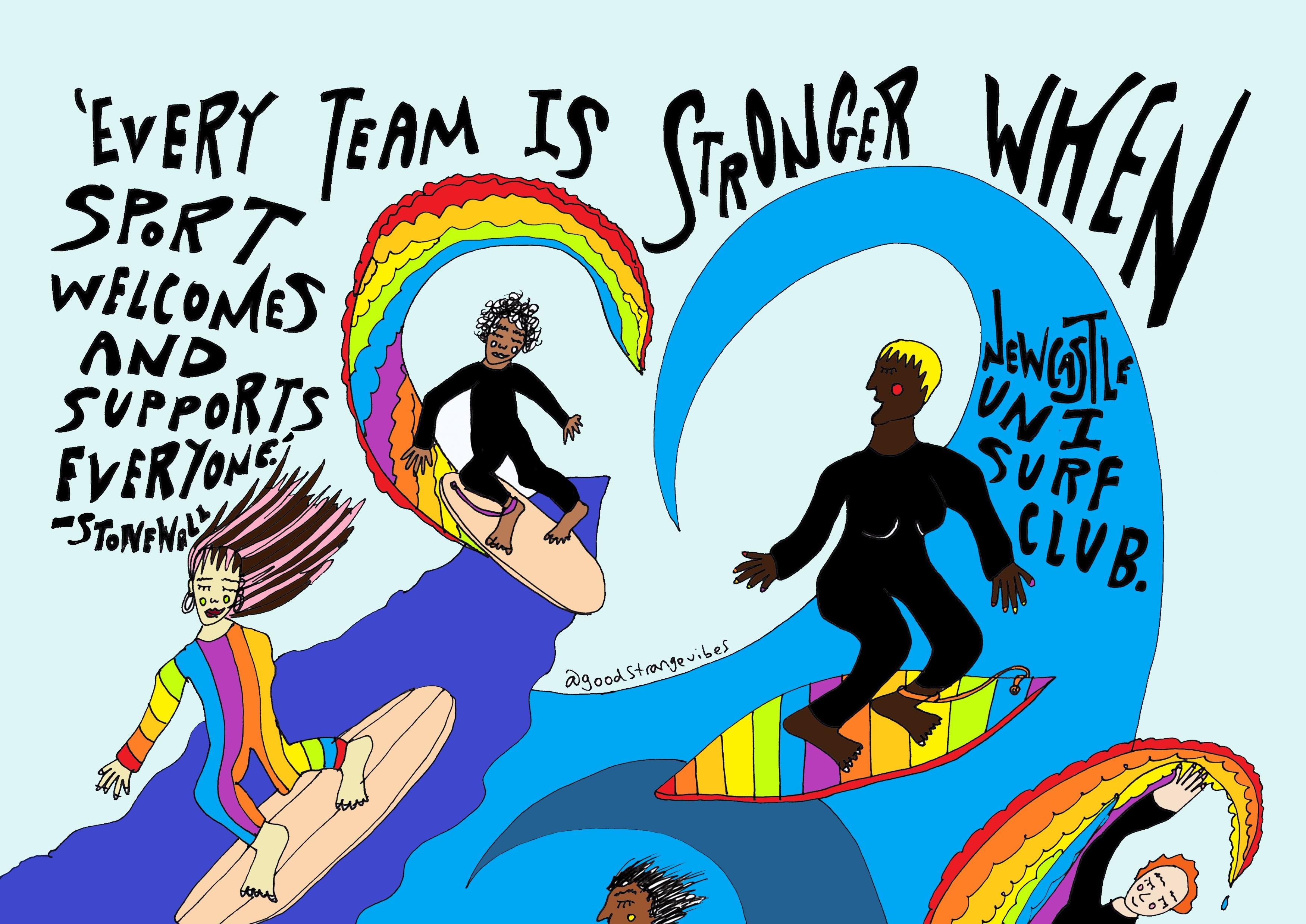 LGBTQ+ Surf