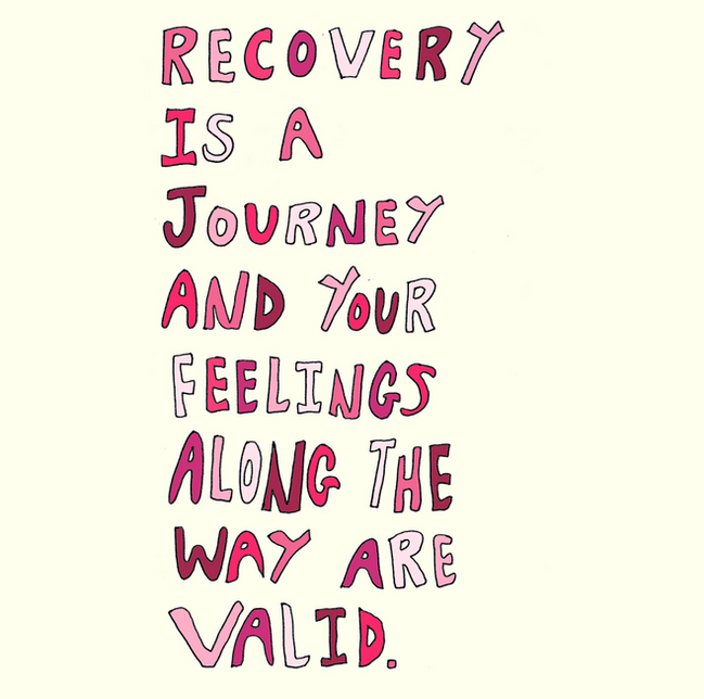Recovery Is A Journey And Your Feelings
